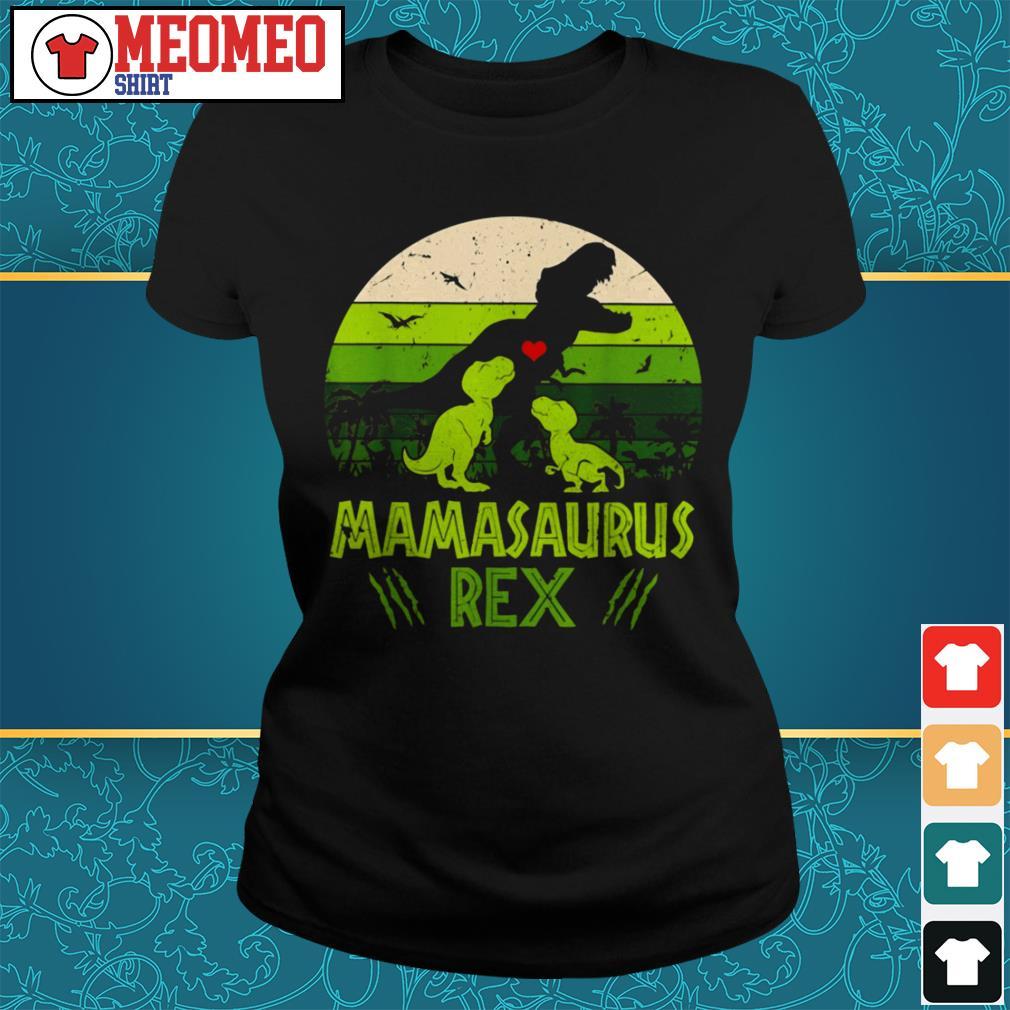 Vintage Dinosaur mamasaurus rex Ladies tee