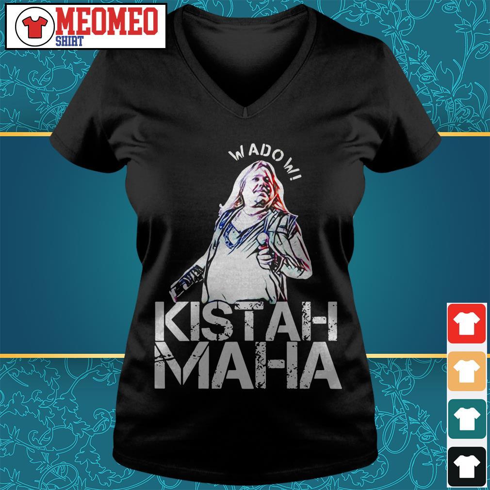Wado W Kistah Maha V-neck t-shirt