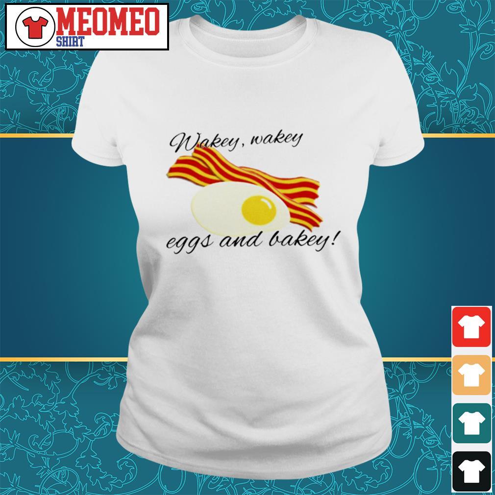 Waker make eggs and bakey Ladies tee