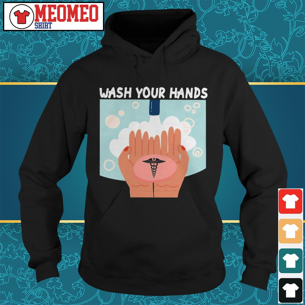 WHO wash your hand Hoodie