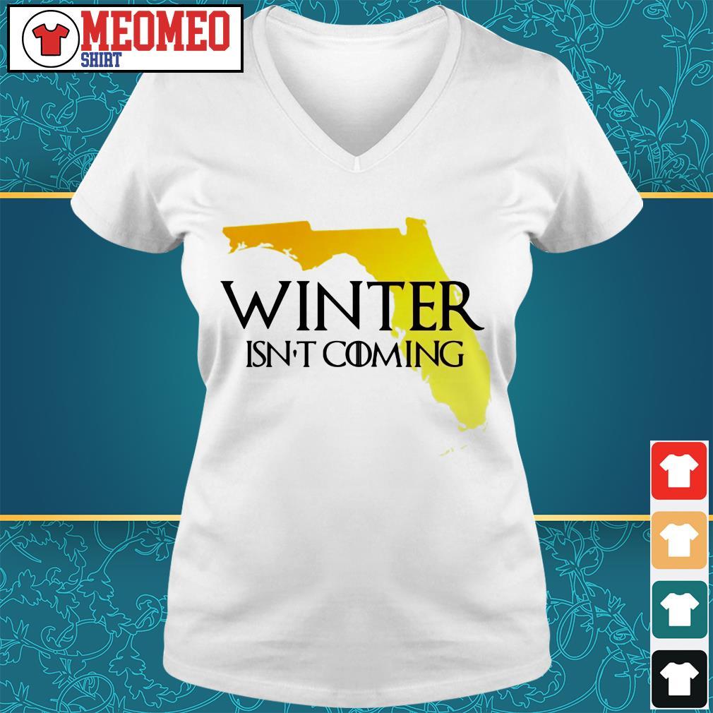 Winter isn't coming V-neck t-shirt