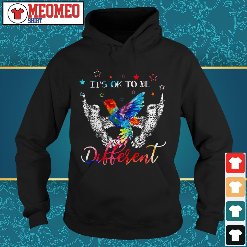 Woodpecker It is to be different Hoodie