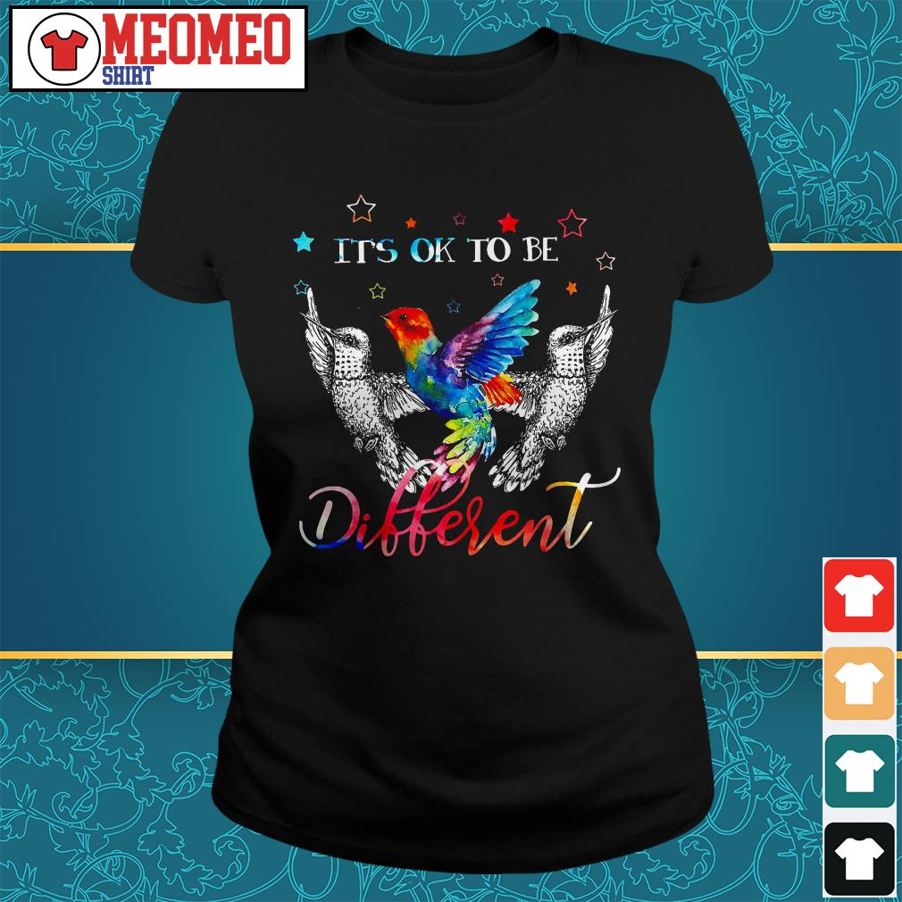 Woodpecker It is to be different ladies tee