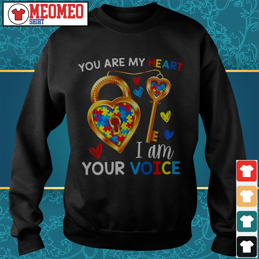 You are my heart I am your voice Sweater