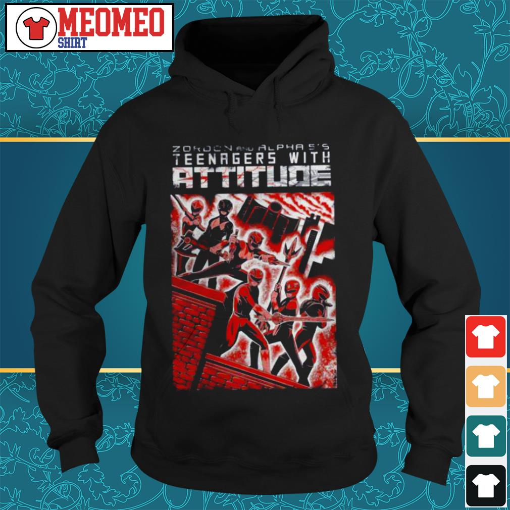 Zaroon and alphas teenagers with attitude Hoodie